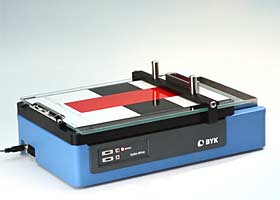 automatic wet film application with byko-drive